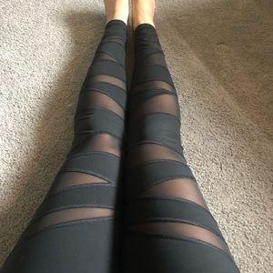 Victoria Secret mesh leggings